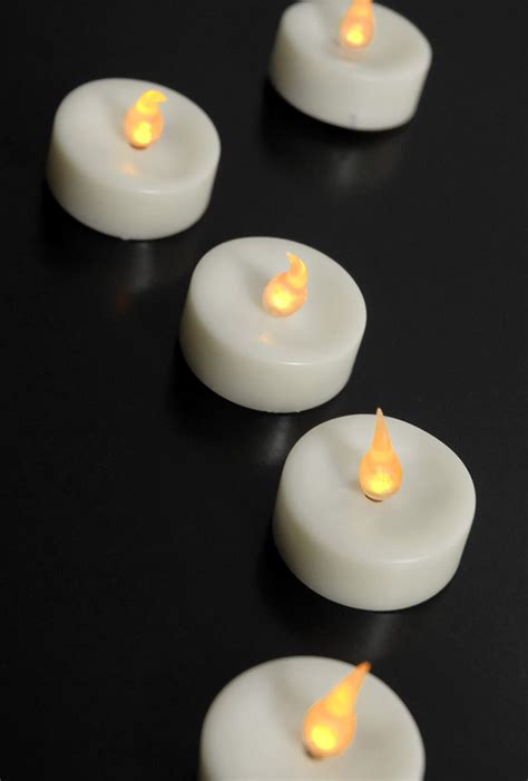 48 battery operated tealights bulk buy