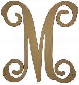 unfinished monogram single vine style letter crosses n more With single letter monogram styles