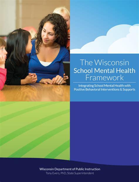wisconsin school mental health framework wisconsin