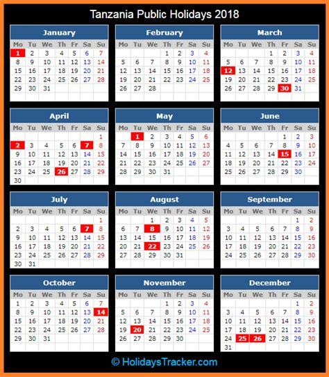 tanzania public holidays  holidays tracker