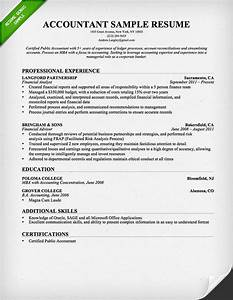 accountant resume sample and tips resume genius With accounting resume writing services