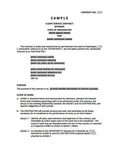 service contract template bravebtr