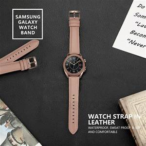 For Samsung Galaxy Watch 3 41mm  45mm Active 3 Leather