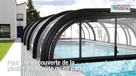 abri de piscine rideau abri de piscine rideau elliptik mi haut