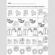 Kindergarten Worksheets October 2015