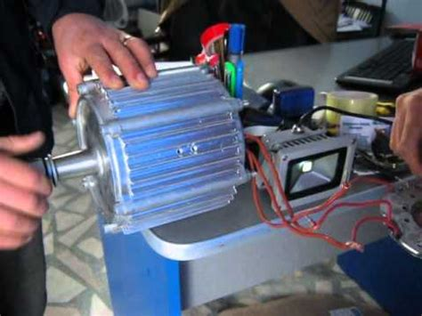 Motor 220v 3kw Pret by Www Alternativepureenergy Ro Generator Cu Magneti