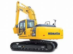 New Komatsu Pc220