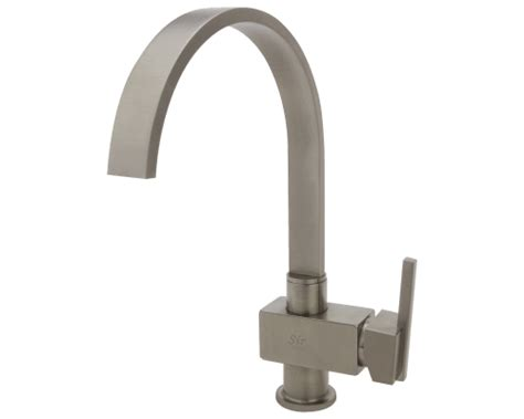 712-bn Brushed Nickel Single Handle Kitchen Faucet
