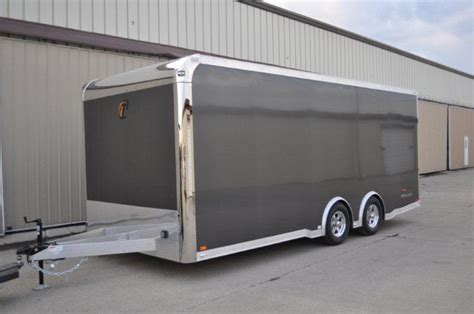 20' Custom Aluminum Intech Trailer