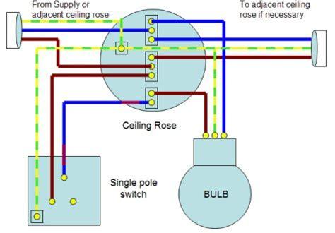Home Wiring Guide Single Way Lighting Circuit