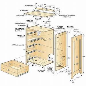 5 Drawer Dresser Plans Free PDF Woodworking
