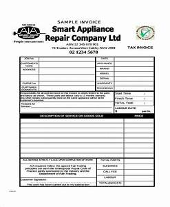 34 invoice form examples With appliance repair invoice