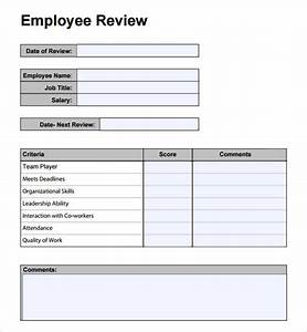 simple performance evaluation template josemulinohouseco With simple performance appraisal template