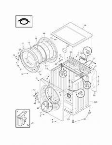 Frigidaire Atf6000fs2 Washer Parts