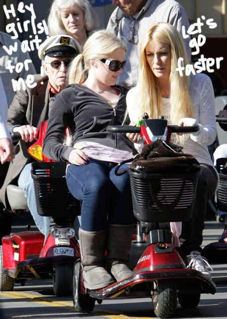 Hef Scoots Around The Happiest Place On Earth - Perez Hilton