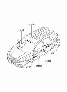 2015 Hyundai Tucson Fuel Cell Door Wiring