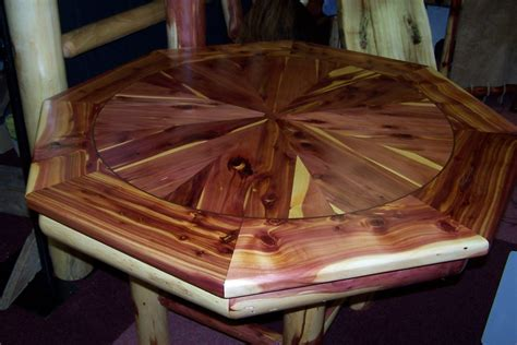 octagon game table plans function detail in the octagon dining table home decorations