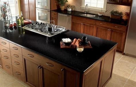 black quartz countertop black quartz kitchen countertops ideas amazing 716611