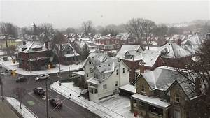 Snow Fall In Kitchener  Ontario  Canada   9th December 2016