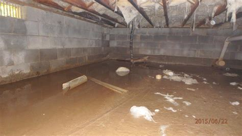 Spray Foam Insulation Crawl Space Dirt Floor by Dr Energy Saver Delmarva Home Insulation Services Photo