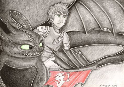 Toothless And Hiccup By Matilzie On Deviantart
