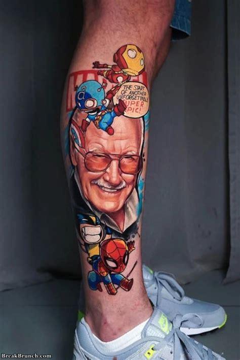 awesome leg tattoos breakbrunch