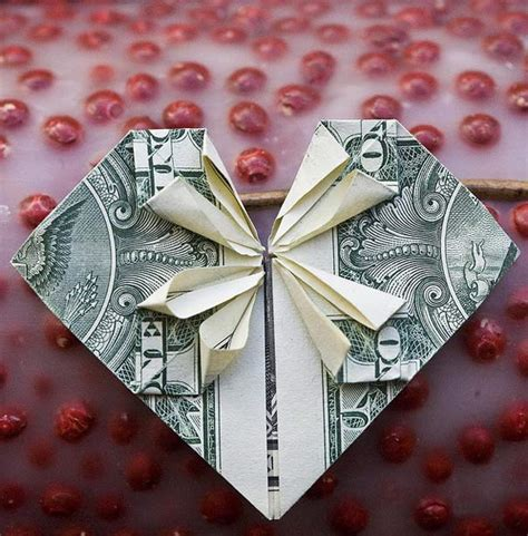 cool examples  dollar bill origami bored panda