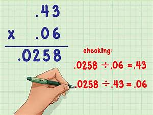How To Multiply Decimals  6 Steps  With Pictures