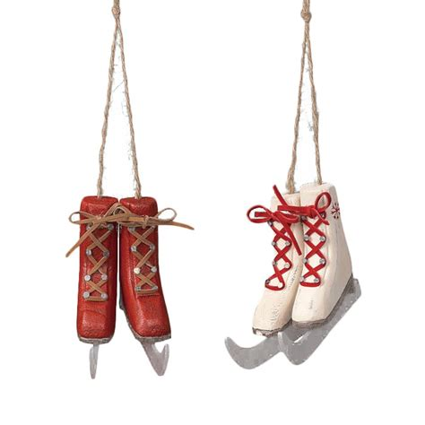 ice skate ornaments christmas pinterest