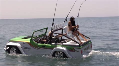 Video Hybrid Jeep Fishing Boat Fishcrack