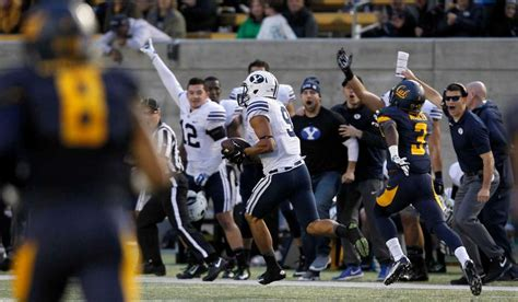 Cal's hopes for bowl dashed with loss to BYU