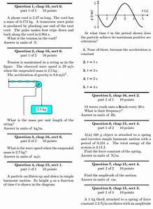 Solved  Transverse  Longitudinal Waves Physics Help I Have