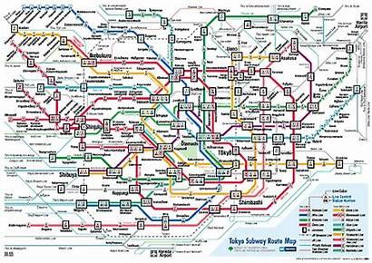 Tokyo Trains Japan Metro Map Pdf Version