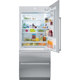 "Sub Zero IT 36R RH 36"" Integrated All Refrigerator with"
