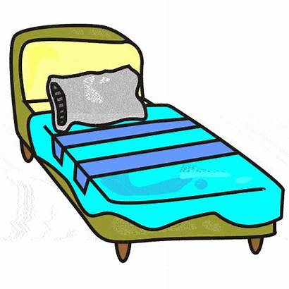 Bed Clipart Clip Furniture Cliparts Beds Hospital
