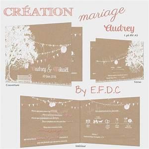 Mariage Theme Champetre : idee faire part mariage champetre lip24 slabtownrib ~ Melissatoandfro.com Idées de Décoration