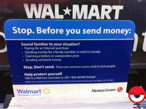 Walmart Lists Sending Someone Money Reason You