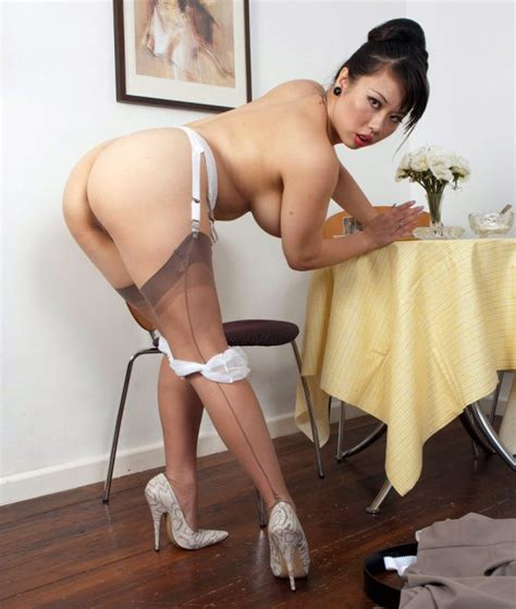Asian Woman In Seamed Stockings Porn Photo Eporner
