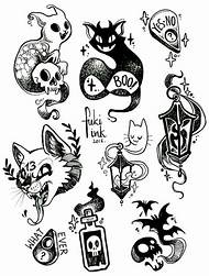 Best Tattoo Flash Art - ideas and images on Bing | Find what you\'ll love