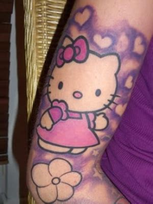 kitty tattoos  sleeve