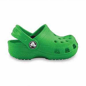 Crocs™ Kids-Foot Size 2-3 Classic in Lime - buybuy BABY