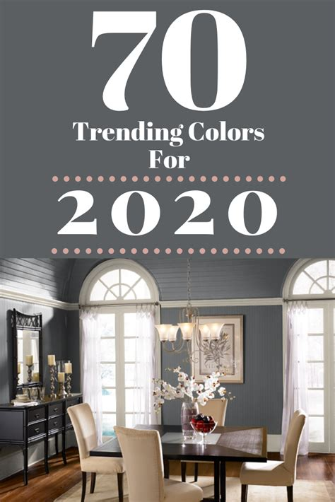 70+ Amazing Colors 2020 Forecast Color Trends For The