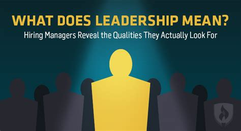what does leadership hiring managers reveal the