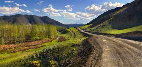 road soil mountains