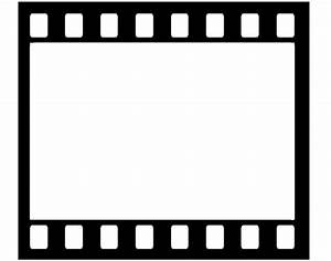 Movie reel templates clipart clipart suggest for Film strip picture template