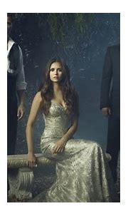 Damon Salvatore Stefan Salvatore Elena Gilbert With White ...