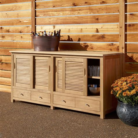 Outdoor Wood Cabinets by The Various Recommendations And Ideas Of The Materials Of