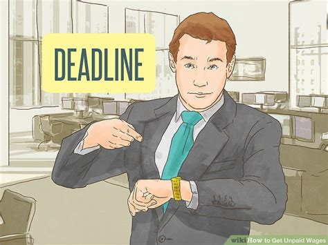 Demand letters can either be expected or unexpected. How to Get Unpaid Wages (with Pictures) - wikiHow