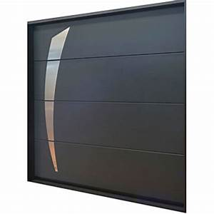 Porte de garage sectionnelle a refoulement plafond soprofen for Soprofen porte de garage