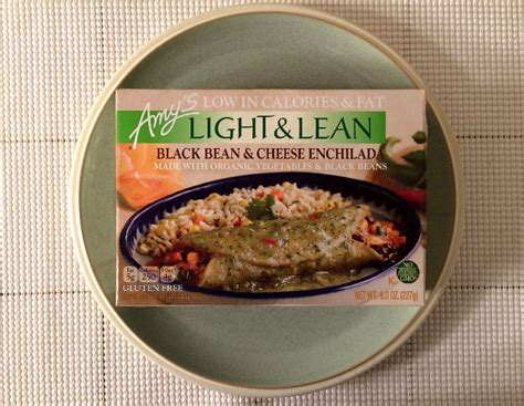 S Light And Lean by S Light Lean Black Bean Cheese Enchilada Review